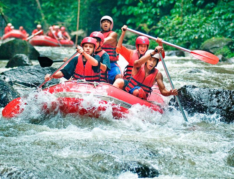 Bali Rafting and Tanah Lot Tour
