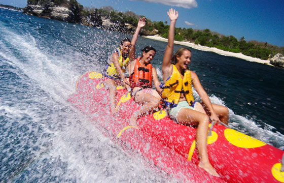 Bali Water Sport and Tanah Lot Tour