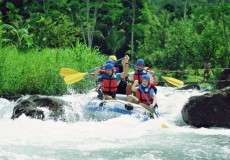 White Water Rafting- bali tour